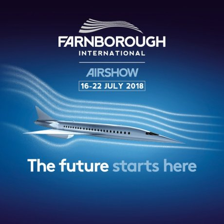 Count down to Farnborough Airshow begins