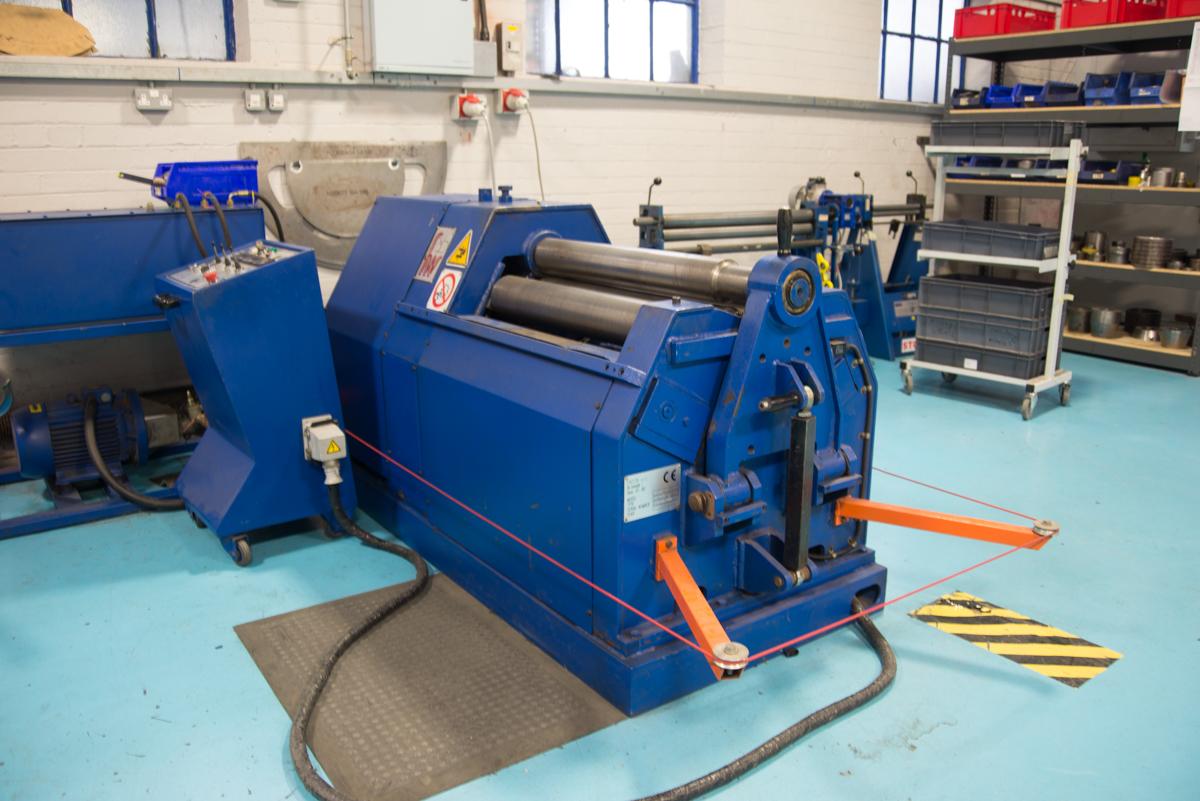 Tube & Cone Roll Forming – MSM aerospace fabricators